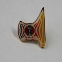 NTL 50 års jubileums merke 1947 til 1997