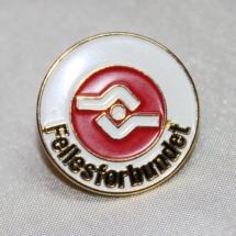 Medlems pin fra Fellesforbundet