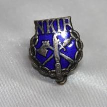 Nål fra Norsk Kjøttindustriarbeiderforbund - Stiftet 1907 gikk inn i NNN i 1970 (gitt av Ivar Leveraas)