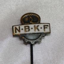 Merke fra Norsk Baker og Konditorforbund etab 1893 gikk inn i NNN i 1963 (Gitt av Ivar Leveraas)