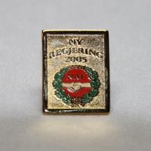 Norsk Arbeidsmannsforbund valgkamp pin 2005
