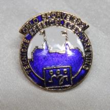 Fagforbundet pin fra Teknisk arbeidslederforening Oslo Sporveier (gitt av Gerd Kristiansen)