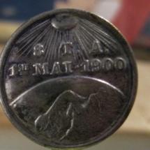 1 mai merke 1900 Merket ligger i samlingen til Jens Otto Havdal!