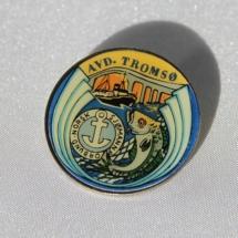 Norsk Sjømannforbund avdeling Tromsø (Pin gitt av Madt Tjøtta)