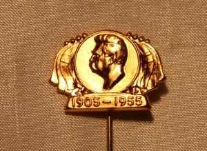 Felles svensk/norsk Nålemerke fra for å feire 50 år siden unionsoppløsningen i 1905