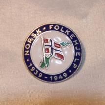 Norsk Folkehjelp 10 års jubileums merke 1939 - 1949
