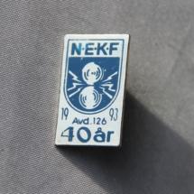 Norsk Elektriker og Kraftstasjons forbund avd 126 jubileums merke 1993