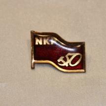 Norges kommunistiske Parti NKP (Jubileums merke 50 år)