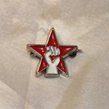 Pin fra Rød Ungdom