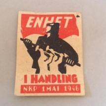 1 mai 1946 NKP (merke ligger i J.O. Havdal sin samling)