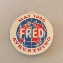 1 mai 1960 NKP (merke ligger i J.O. Havdal sin samling)