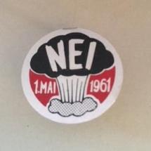 1 mai 1961 NKP (merke ligger i J.O. Havdal sin samling)