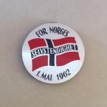 1 mai 1962 NKP (merke ligger i J.O. Havdal sin samling)