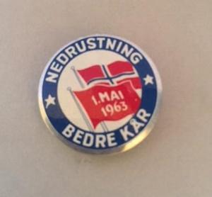 1 mai 1963 NKP (merke ligger i J.O. Havdal sin samling)