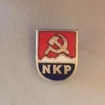 NKP merke (merke ligger i J.O. Havdal sin samling)