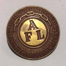 Arbeidernes faglige landsorganisasjon (nå LO) Jubileumsmerke 50 år 1899 til 1949