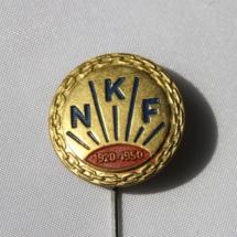 Norsk Kommuneforbund 30 års jubileumsnål 1920 til 1950