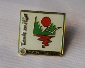 Norsk Kommuneforbund pin -Tenk miljø