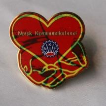 Norsk Kommuneforbund Landsmøte 2002 pin