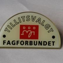 Pin for tillitsvalgte i Fagforbundet