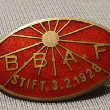 Bærum Bygningsarbeiderforening (merket ligger i Eli Alvheim sin samling)