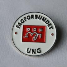 Pin for tillitsvalgte i Fagforbundet ung