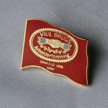 Viul Bruks arbeiderforening Jubileumsmerke 100 år i 2006. Nå avdeling 431 i Fellesforbundet