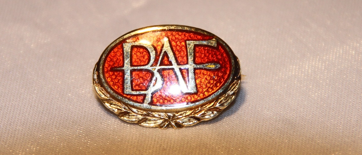 Bekledningsarbeiderforbundet 1890 (1969) Hedersmerke i gull (gikk inn i Fellesforbundet i 1988