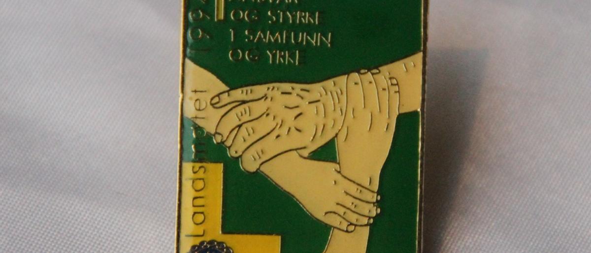 Norsk Kommuneforbund Landsmøte 1994 pin